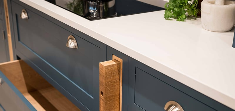 shaker kitchen quartz worktop
